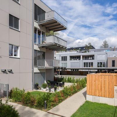 Mehrgeschossig bauen in Holzrahmenbauweise, Göttingen